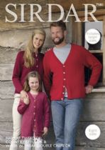 Sirdar Country Style DK - 7980 Cardigans Knitting Pattern